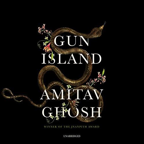 Gun Island audiobook cover art