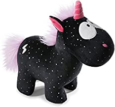 NICI 41418 Theodor and Friends Cuddly Toy Unicorn Carbon Flash, 22 cm
