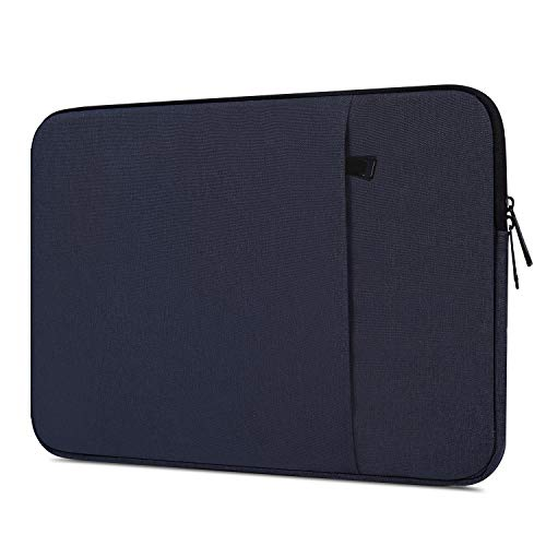 14 15 Inch Laptop Sleeve, Men Women Laptop Bag Case for Dell XPS 15 9570 9575, Lenovo Yoga C930 920 13.9, HP Pavilion x360/EliteBook 14, Surface Laptop 3 2 13.5, Acer Chromebook 14 Bag, Navy Blue