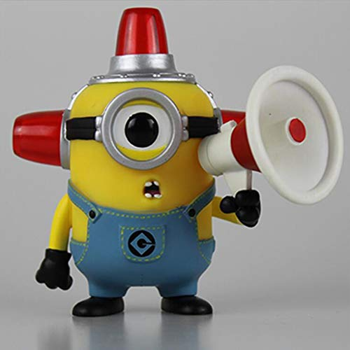 "Luckly77 Feueralarm Minions ""Despicable Me"" Minions Exquisite Abbildung POP Sammler Spielzeug for Kinder"