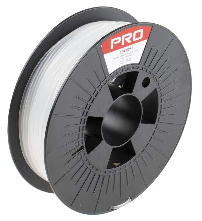 RS PRO 2.85mm Clear PP 3D Printer Filament, 500g