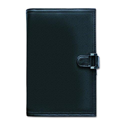 Day-Timer 44316 Soft Flex Leatherlike Starter Set, 3 3/4 x 6 3/4, Black