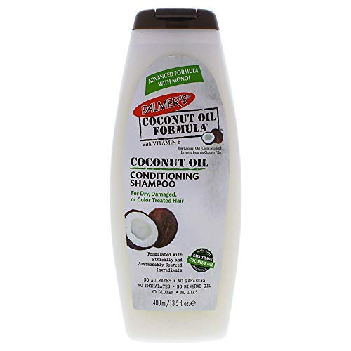 Palmer's Coconut Oil Formula Conditioning Shampoo, 13.5 Fluid Ounce (Pack of 2)