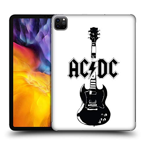 Official AC/DC ACDC Lead Guitar Iconic Hard Back Case Compatible for Apple iPad Pro 11 (2020)