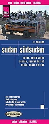 Reise Know-How Landkarte Sudan, Südsudan (1:1.800.000): worldmappingproject