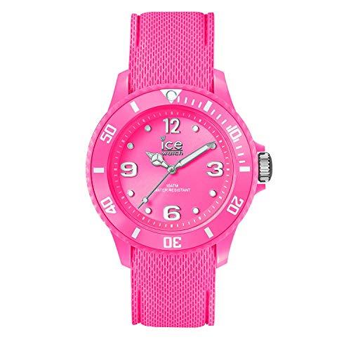 Ice-Watch - ICE sixty nine Neon pink - Rosa Damenuhr mit Silikonarmband - 014230 (Small)