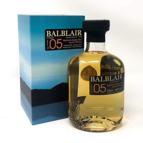 Balblair 2005 1st Release Single Malt Scotch Whisky 46% 0,05l Miniaturflasche