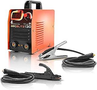 Soldador inverter electrodo MMA ARCBLITZ 130 digital. Electrodos básicos, rusos, hierro fundido,