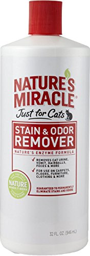 Nature's Miracle Just for Cats Stain & Odor Remover,...