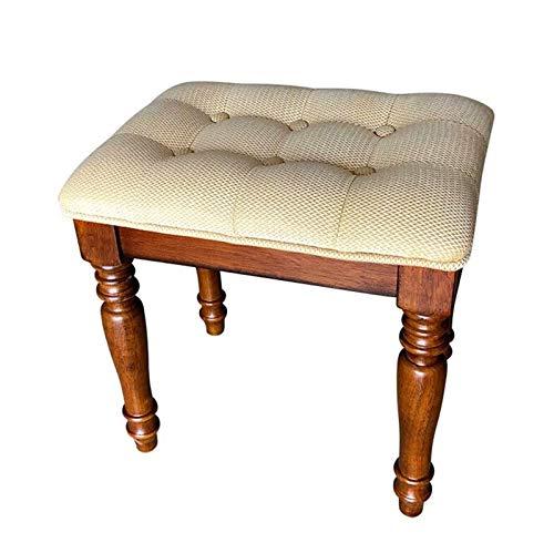 HIZLJJ Klavierhocker atmungsaktive Klavierbank-amerikanische Keyboard-Hocker ankleiden Tisch Guzheng Drum Maniküre-Stuhl