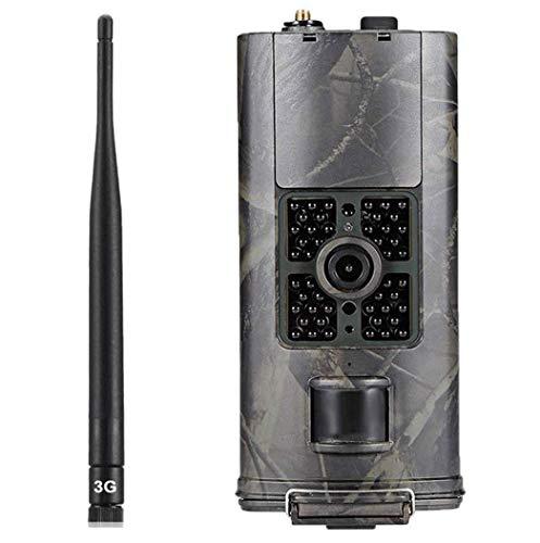 LTE 4G Wildkamera Mit Bewegungsmelder Nachtsicht HandyüBertragung 16MP 1080P Full HD Jagdkamera mit 20M 120° Weitwinkel Überwachungskamera Mit IP66 Wasserdicht 0,3 Sek Trigger