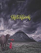 Sketchbook: cute sketchbook for girls (SKETCHBOOKS)