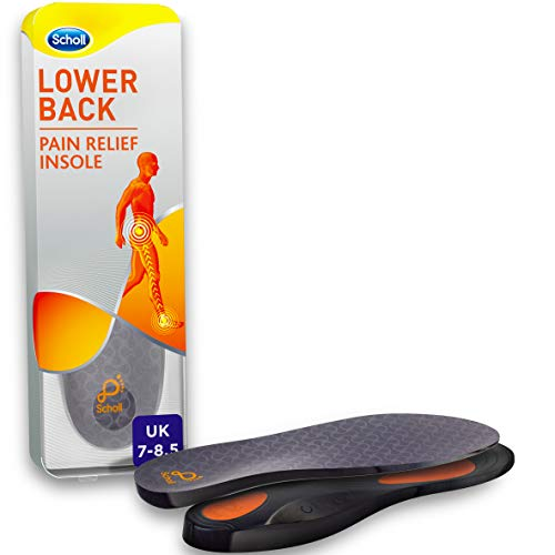 Scholl Orthotic Insole Lower Back Pain Relief, Medium, M (7-8.5) UK Size