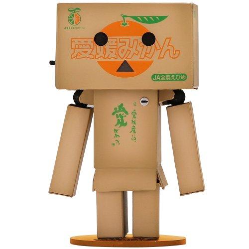 Revoltech Danbo Mini JA Ehime Orange Crate Ver. (japan import)