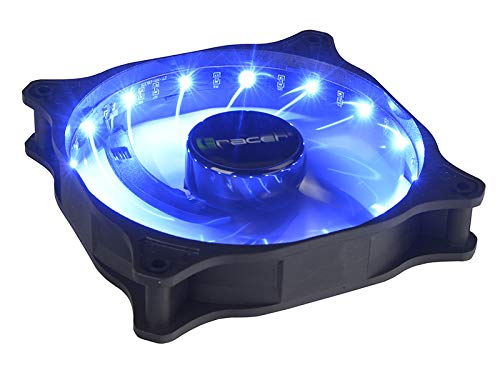 Tracer Fan LED 12 Red Ventilador PC Gaming 120mm con LED Rojo ...
