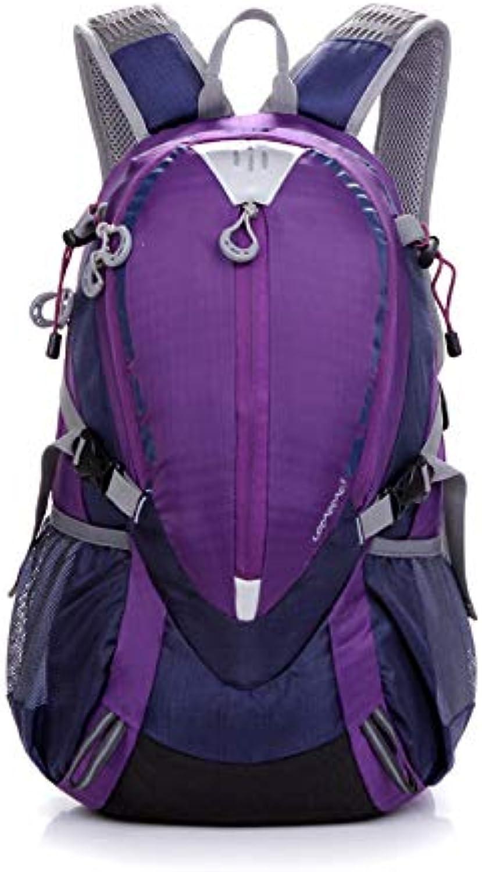 Backpack Hiking Outdoor Hiking Bag Male Waterproof Travel Sports Backpack Female 25L Riding Backpack,C