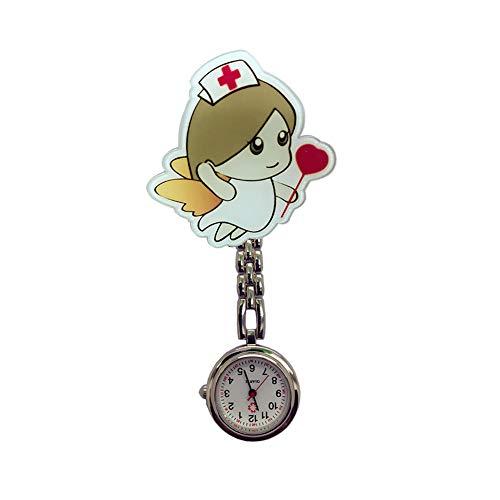 XUBA Bonito reloj de aleación para enfermera Supe para hombres y mujeres