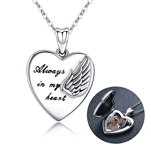 MEDWISE Locket Necklace That Holds …