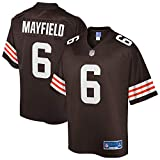 NFL PRO LINE Men's Baker Mayfield Brown Cleveland Browns Team Player Jersey
