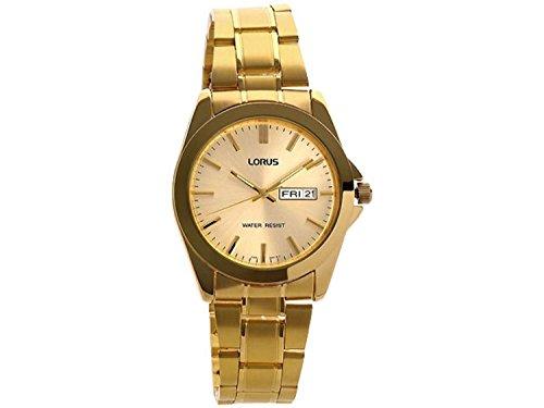 Men\'s Gold Tone Bracelet Watch