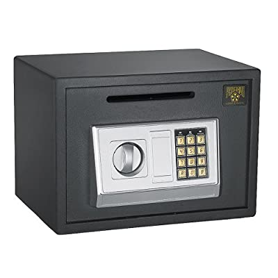 Paragon Lock & Safe - 7875 Depository Safe 7875 Digital Depository Safe .67 CF Cash Drop Safes Heavy Duty