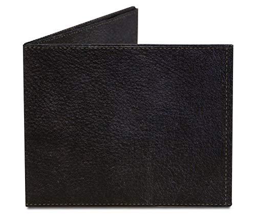 Dynomighty Men's Leather Mighty Wallet - Super Thin Lightweight Tyvek Billfold