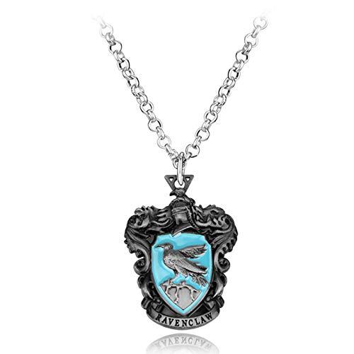 WYFLL Collar de aleación de Gryffindor Slater con diseño de Harry Potter Hogwarts