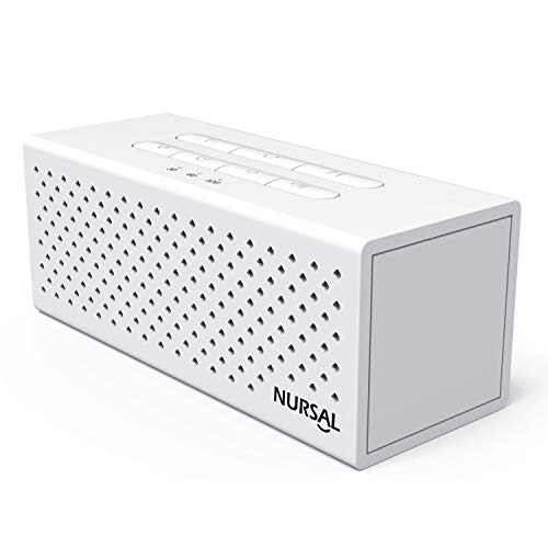 NURSAL White Noise Machine Sound Machine for Sleeping & Relaxation, 10 Natural Sounds, Portable Sleep Therapy for Home, Office or Travel
