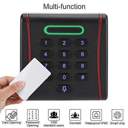 Sistema de control de acceso Sistema de control de acceso de puerta de la prenda impermeable IP65, para oficina(13.56Mhz)