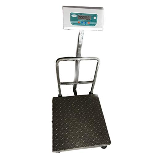 TATA DIGITAL Metal Plate Platform Rechargeable Platform Weight Scale industry, Commercial Use, Capacity 200 kg/300 kg, Accuracy 20 gm Checked