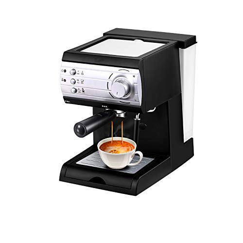 Traditional Pump Espresso Coffee Machine, 20 Bar 850W Traditional Espresso Coffee Maker with Milk Frothing,1.5L Removable Water Tank,Washable Drip Tray