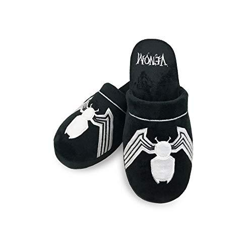 Marvel Offizielles Venom-Pantoffel für Erwachsene - Eine Größe