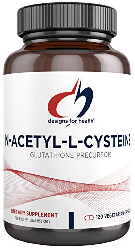 Designs for Health N-Acetyl-L-Cysteine - 900mg NAC Supplement (120 Capsules)