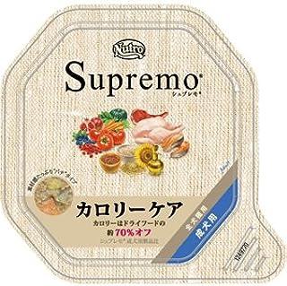 シュプレモ カロリーケア 成犬用トレイ 100g×24P