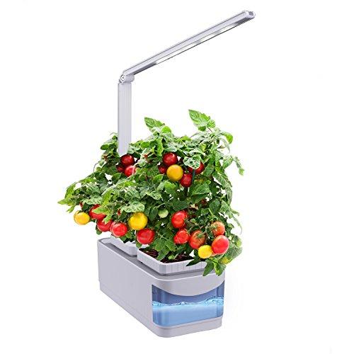 AIBSI Indoor Herb Garden, Hydroponics Growing System, Auto Sensor...