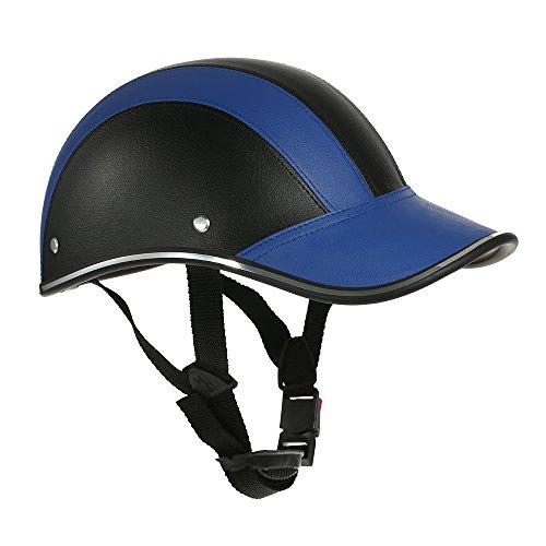 GoolRC Casco de Moto Media Cara Gorra de béisbol con Visera