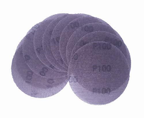 IHS® KLETT Gitterleinen Schleifscheiben Schleifgitter Set 5 10 25 od 50 Stck Schleifpapier Scheiben Durchmesser 125mm Durchmesser Körnung K80 - K400