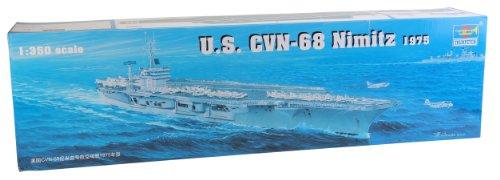 Trumpeter 05605 Modellbausatz Flugzeugträger USS Nimitz CVN-68 1975