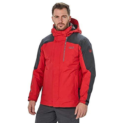 Jack Wolfskin Herren Viking Sky Jacke, red lacquer, XL