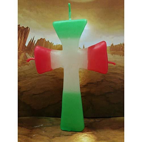 LCL velas Figura DE Cera Cruz DE San Jorge