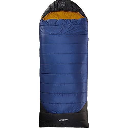 Nordisk Puk -2° Blanket Schlafsack L True Navy/Mustard Yellow/Black 2020 Quechua Schlafsack