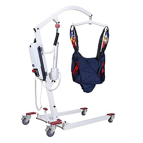 JFNV-Grúa Eléctrica Eslingas para Elevación De Pacientes Ayudas,para Bariátrico, Enfermería,Anciano, Discapacitado, Cuerpo...