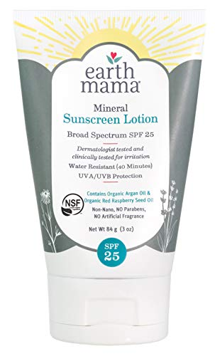 Mineral Sunscreen Lotion SPF 25 by Earth Mama