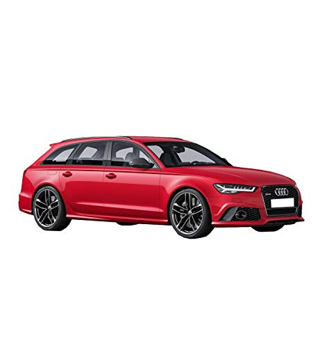 Wheelzone For Audi A6 Avant C7 Facelift 2015 Estate Stone Chip Film Láminas Protectoras para Pintura Protection Film Paint Protective Decal Stoneguard - Front Arch + Rear Arch + Headlights