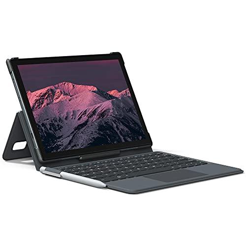 """VASTKING KingPad K10 Pro 10.1"""" オクタコアタブレット, 4GB RAM, 64GB ストレージ, Android 10, 1920*1200 フル HD タブレット、3点セット キーボードとスタイラスペン付属, 60Hz リフレッシュレート, 13MP リアカメラ, 5G WiFi, 2.4GWIFI,GPS (グレー)"""