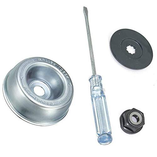 Kit de 4 piezas de jardinería para cortadora de césped de la cuchilla del adaptador del kit de mantenimiento de la cuchilla Stihl adaptador kit de accesorio para cortador de cuerdas Stihl