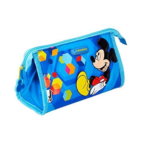 Samsonite LU0191 Trousse de Toilette en Polyester Mickey Idéal pour Ranger des Articles pour Enfants
