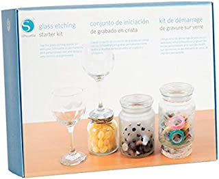 Silhouette America KIT-GLASS-3T Glass Etching Starter Kit