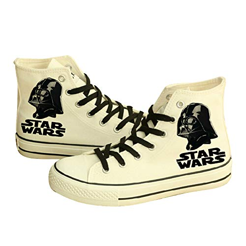Telacos Movie Darth Vader Disfraz Anakin Cosplay Zapatos Zapatillas de lona para...