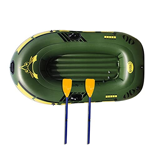 SZTUCCE Barco Inflable Engrosado 2/3 Personas Barco de Deriva portátil Kayak Motor Submarino Submarino Boegschroef Fibra de Verre ROV (Color : 2 Sit)